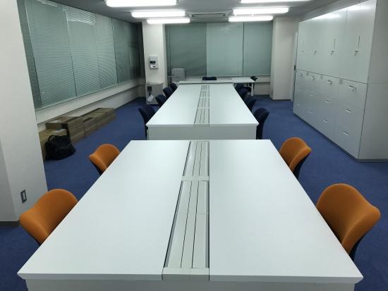 新オフィス開設に伴う間仕切り工事、オフィスレイアウト提案事例